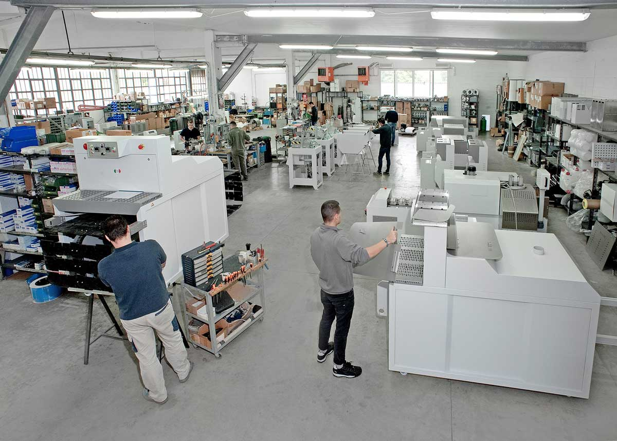 Machinery production for the footwear industry